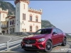 Mercedes-Benz GLC 350 d Coupé;  Exterieur: hyazinthrot; Interieur: designo Leder Nappa schwarz;  Kraftstoffverbrauch kombiniert: ab 6,0 l/100 km*; CO2-Emissionen kombiniert: ab 155 g/km*; exterior: hyacinth red; interior: designo Nappa black/black; fuel consumption combined: from 6.0 l/100 km*; CO2 emissions combined: from 155 g/km* *vorläufige Werte/provisional values