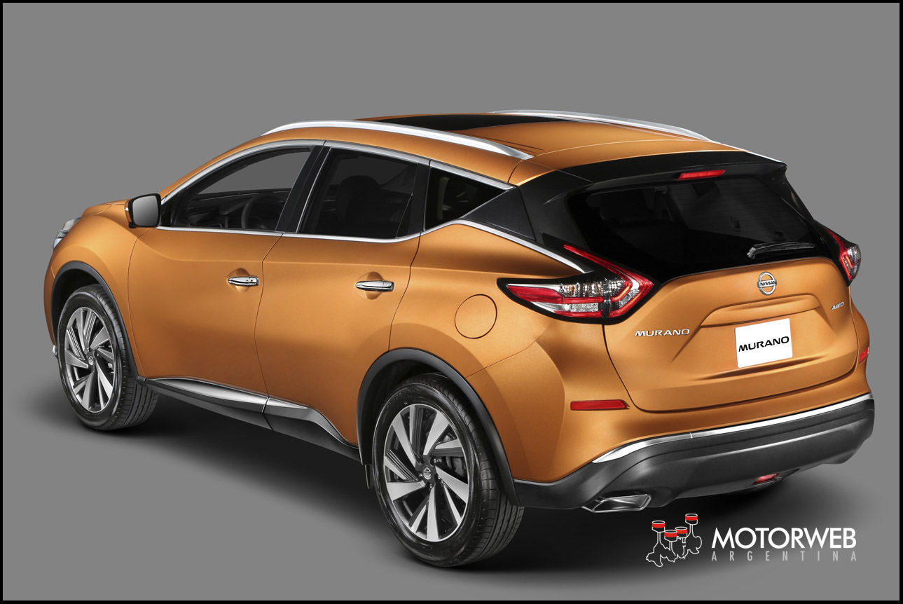 nissan argentina presenta la nueva murano. Black Bedroom Furniture Sets. Home Design Ideas