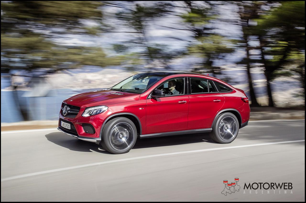 Mercedes benz gle coup el nuevo suv deportivo que for 2014 mercedes benz gle 350