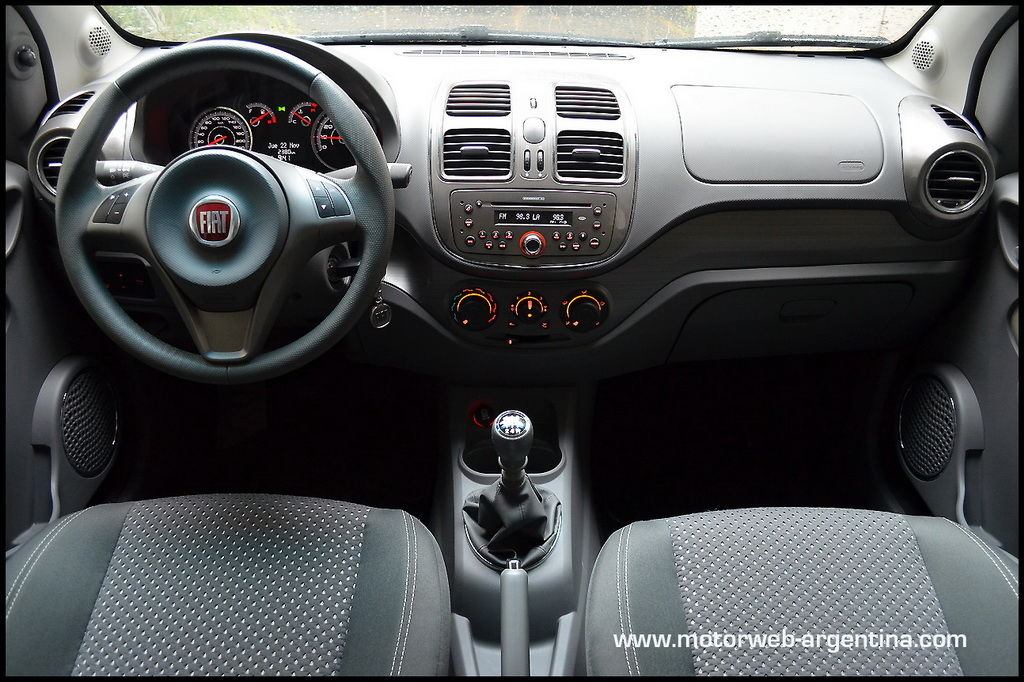 Prueba  Fiat Grand Siena 1 6
