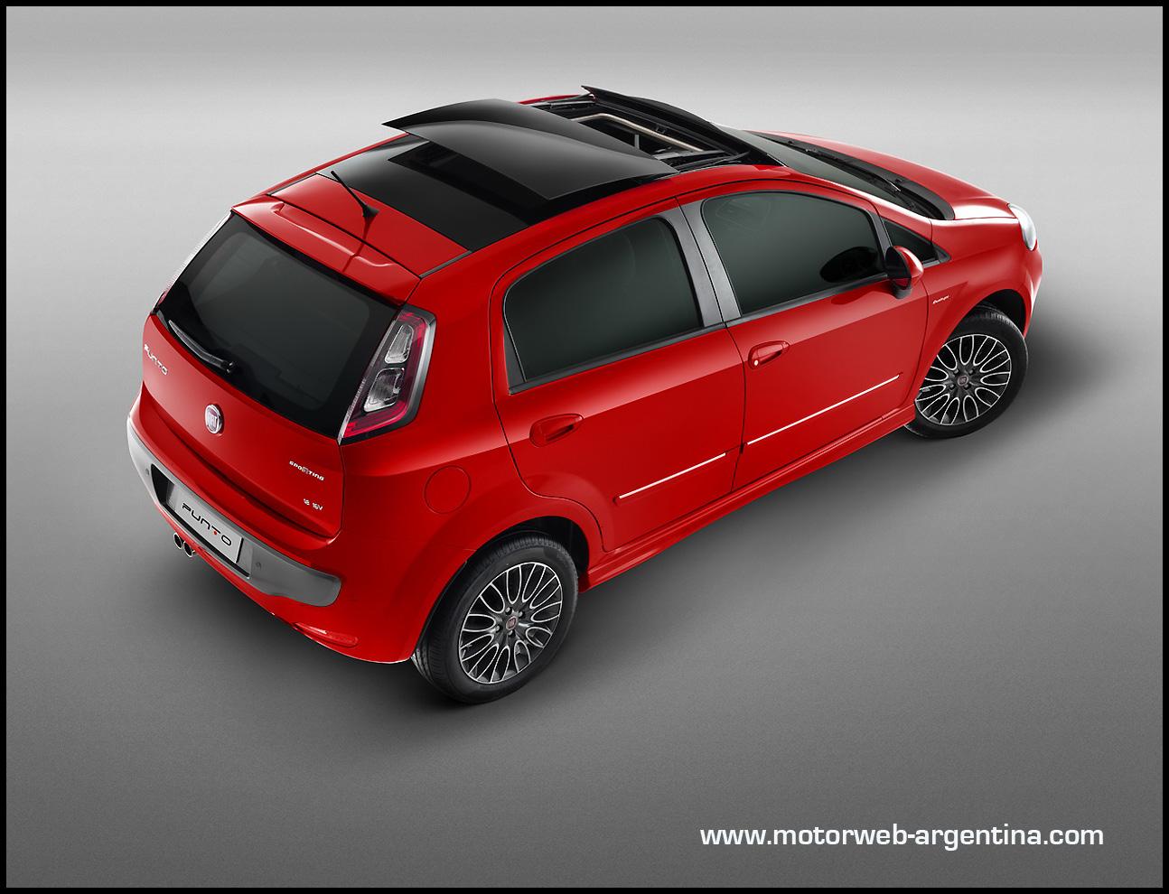 Nuevo fiat punto precios y versiones para argentina for Fiat idea nuevo precio