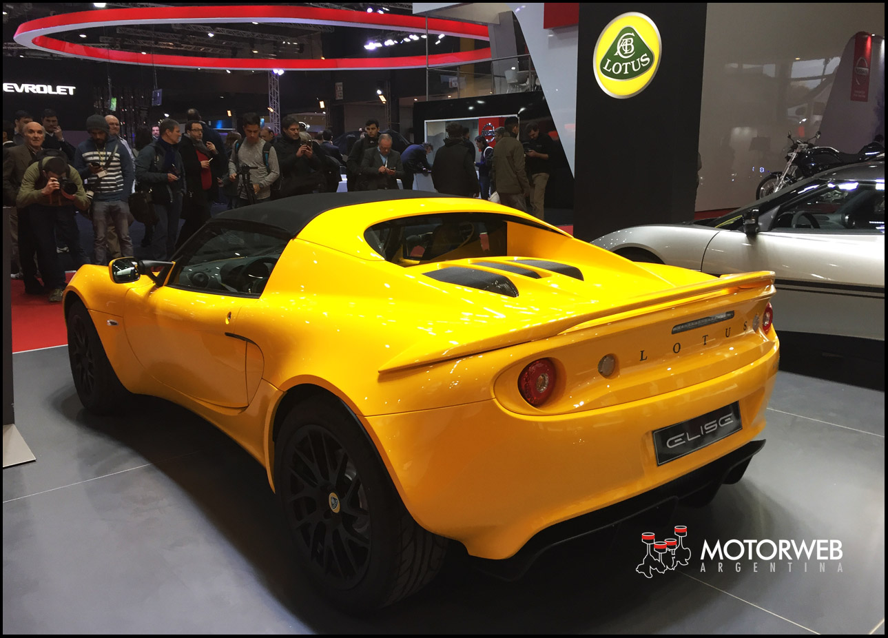 9cca418166c9 Salón de Buenos Aires 2017  Llega Lotus al país